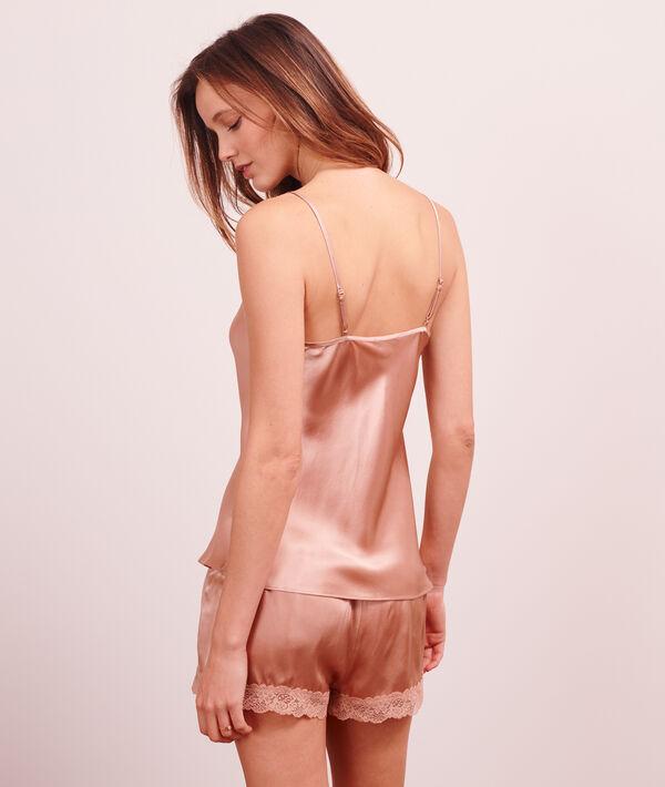 Silk cami top;${refinementColor}